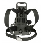 Plastic Built-in back plate with harness system