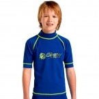 ST2004 Kids Short Sleeve Surf Rash Shirt