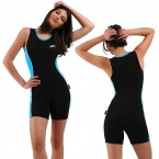 ST622 Ladies Active Raysuit Sleeveless